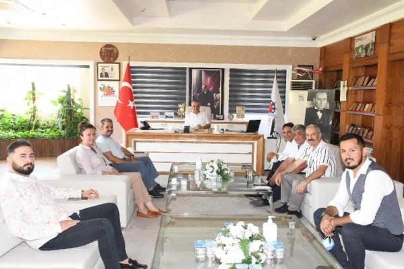 İYİ Parti Antalya Milletvekili Bahşi, Kemer Belediyesi'nde