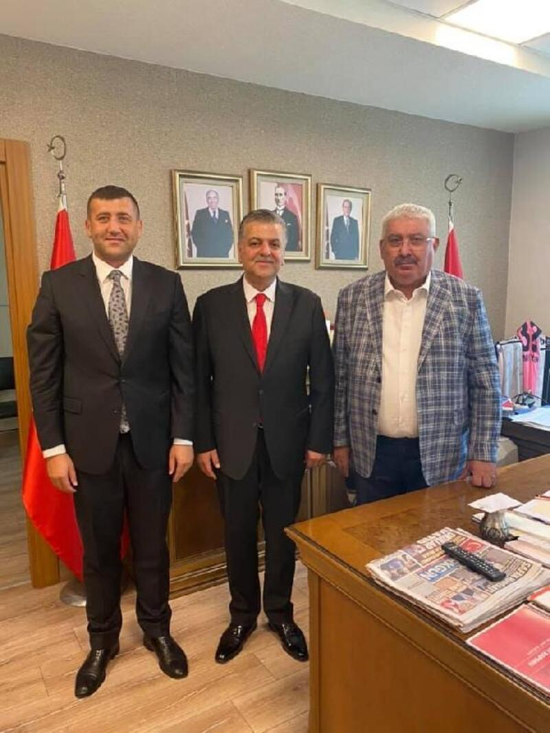 MHP İl Başkanı Adnan İncetoprak oldu