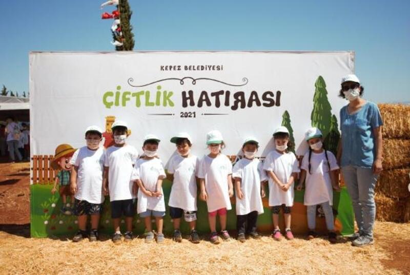 Çocuklara huzur veren çiftlik