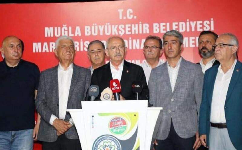 CHP lideri Kemal Kılıçdaroğlu yarın Muğla'da