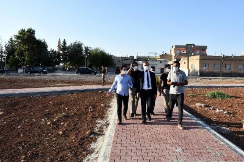 Nusaybin'de mesire alanı çalışmaları devam ediyor