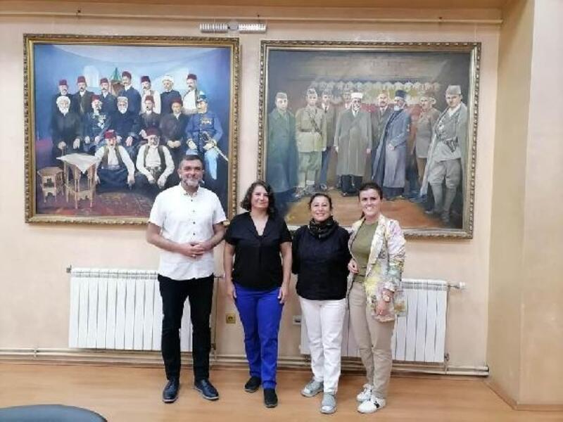 Prof. Melihat Tüzün, 'Sanat Kolonisi Sjenıca 2021'e katıldı