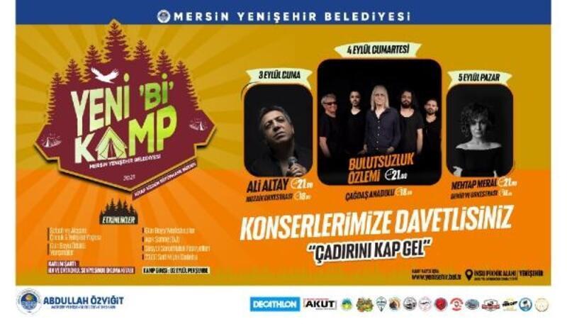 Yenişehir Belediyesi,doğaseverleri Yeni 'Bİ' Kampta buluşturacak