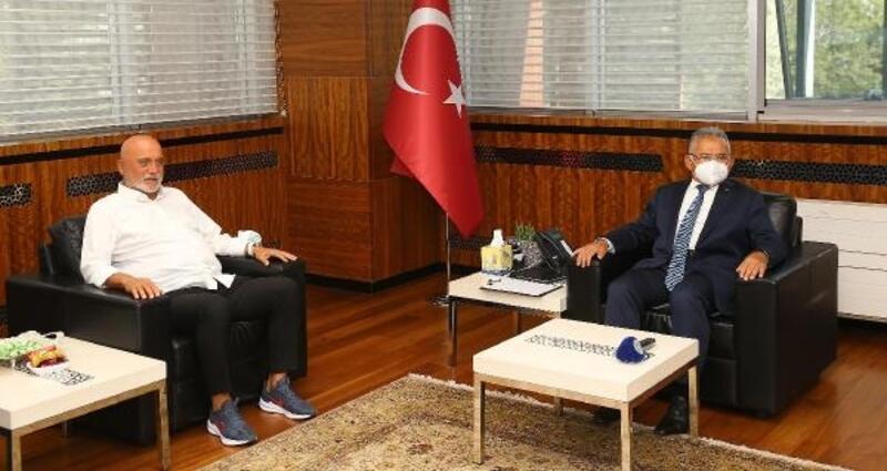Karaman'dan Erciyes Yüksek İrtifa Kamp Merkezine övgü