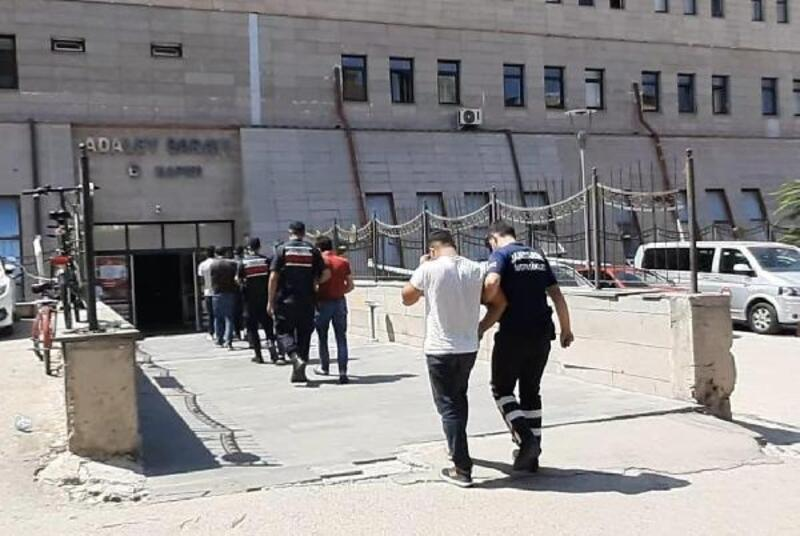 Eskişehir'de 130 bin liralık kablo çalan 5 şüpheli yakalandı