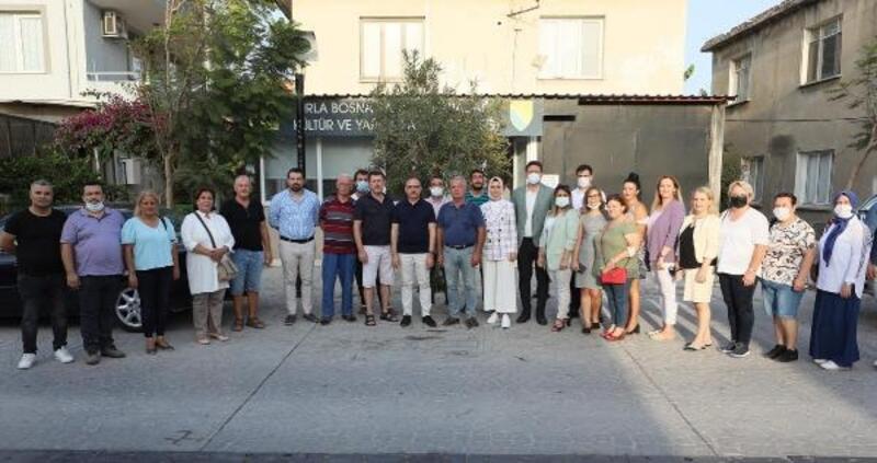 Başkan Sürekli'den Urla'ya ziyaret