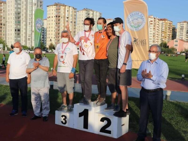Talas'ta yamaç paraşütü şampiyonası sona erdi
