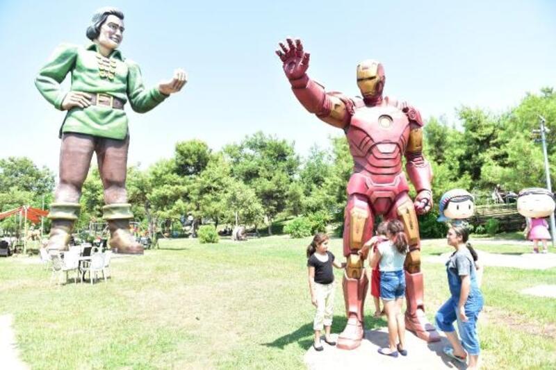 Tek Sarnıç Kent Parkı'nı çocuklar çok sevdi