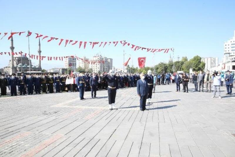 Kayseri'de 30 Ağustos Zafer Bayramı kutlandı