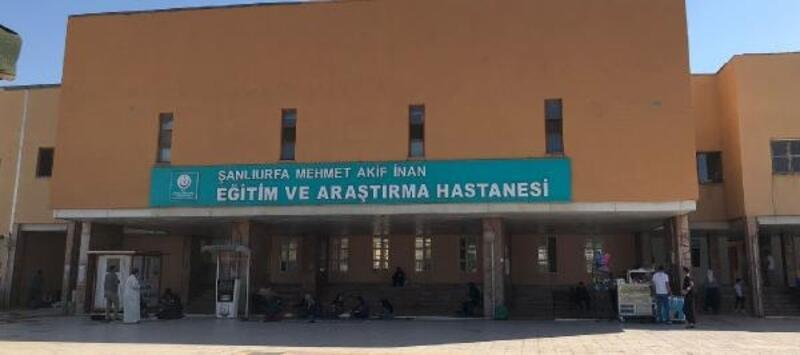 Şanlıurfa'da, hastaneden hırsızlık