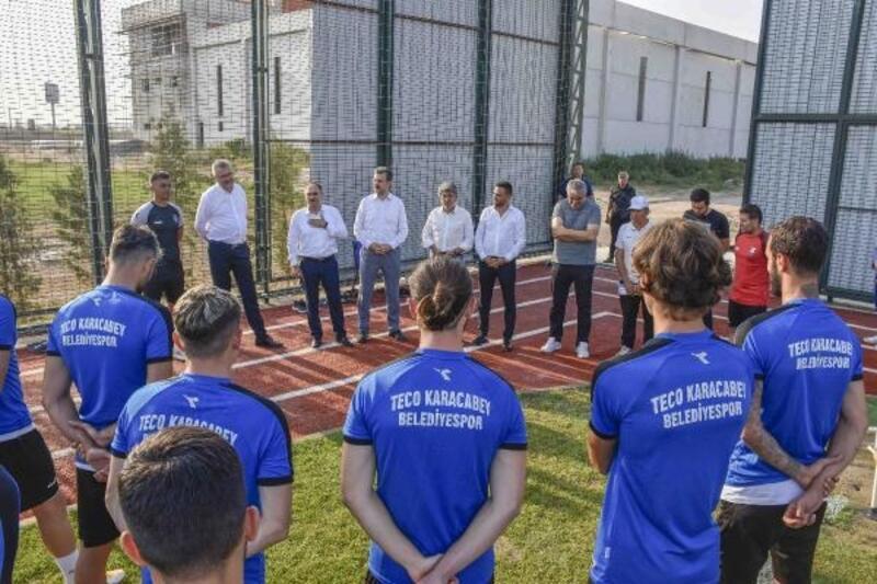 Karacabey'deki spor yatırımları değerlendirildi