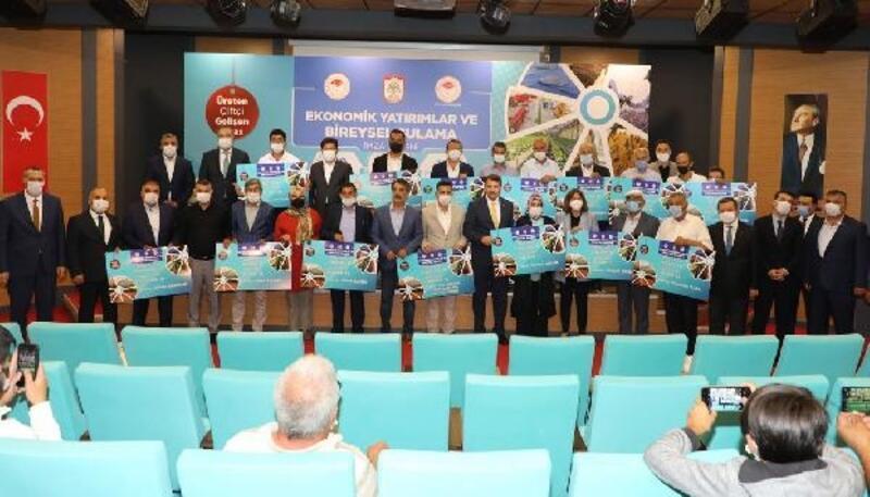 Sivas'ta 40 milyon lira bedelli 277 proje için imza töreni