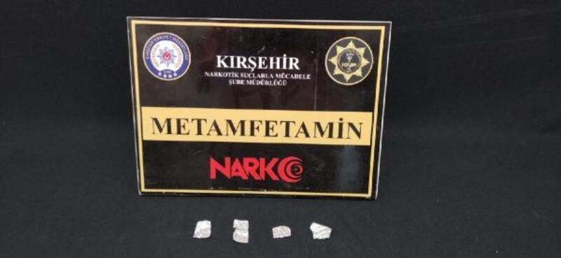 Kırşehir'de uyuşturucu ticaretine 1 tutuklama