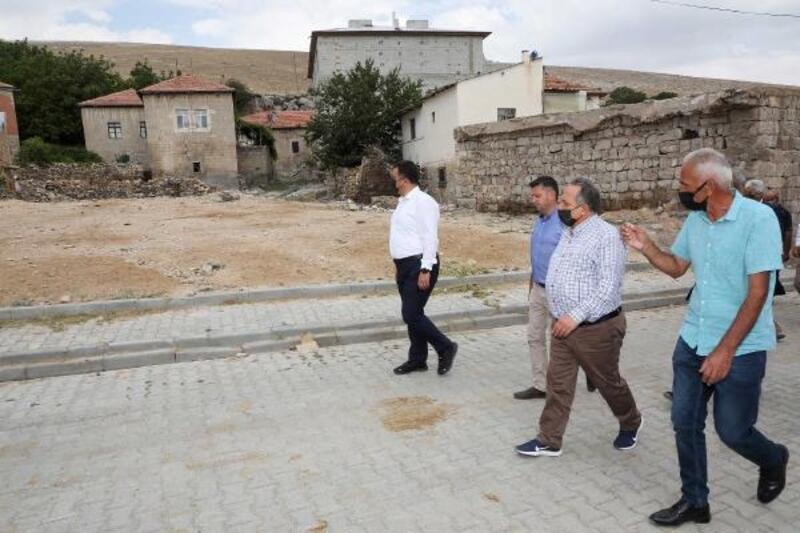 Başkan Yalçın, kırsal mahalle ziyaretlerini sürdürüyor