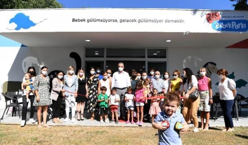 Konyaaltı'ndan 'bebeklere özel' park