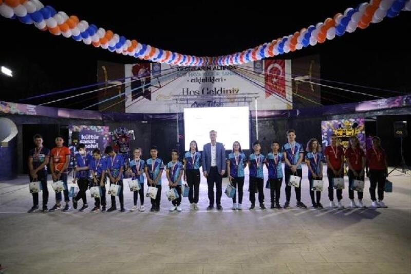 İnegöl Belediyespor Yaz Okulu şölenle sona erdi