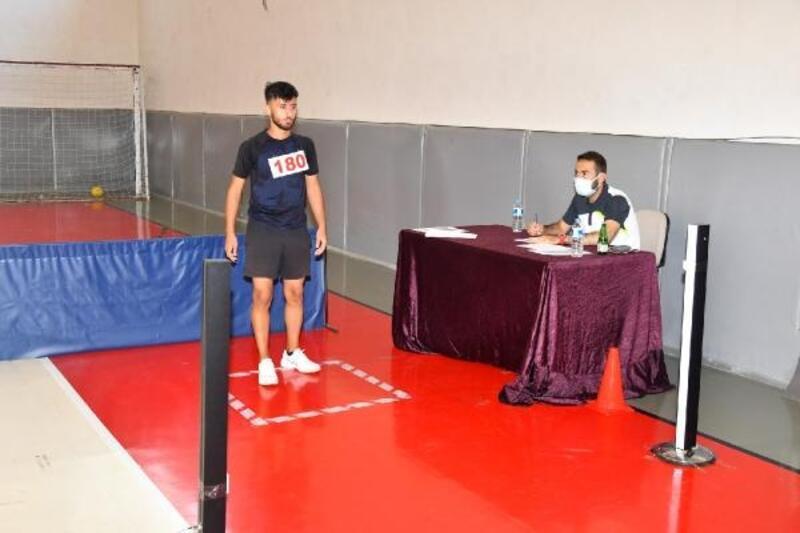 Korkut Ata Üniversitesi'nde BESYO özel yetenek sınavı yapıldı