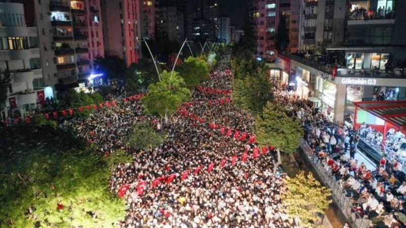 Adana'da 30 Ağustos Zafer Bayramı'nı coşkusu
