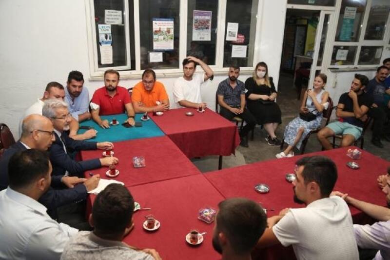 Nilüfer Belediye Başkanı Erdem, Yolçatı gençlerini dinledi
