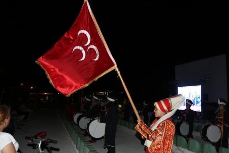 Filenin Sultanları'na Kadın Mehteran Takımı'ndan destek