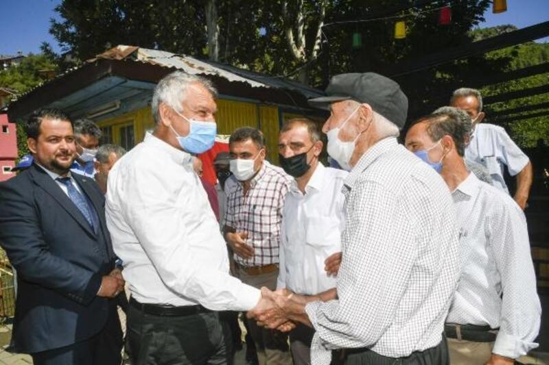 Zeydan Karalar, Feke'nin kırsal mahallelerinde halkla buluştu