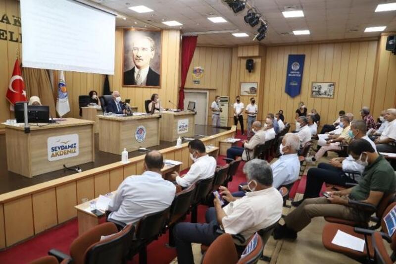 Akdeniz Belediye Meclisi eylül ayı toplantısı yapıldı