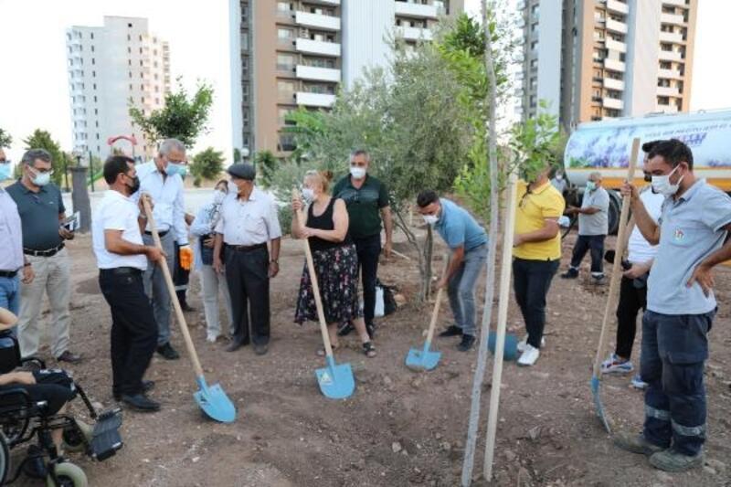 Mezitli Belediyesi DMD hastaları için koruluk açtı