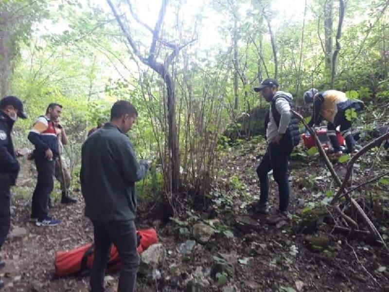 Kayıp yaşlı adam, ormanda ölü bulundu