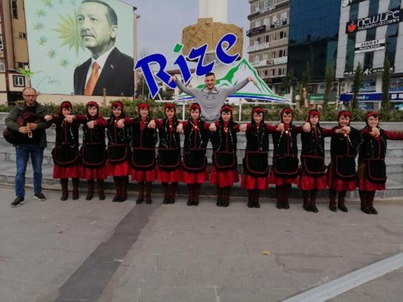 Rize'nin halkoyunları kültürü gençlerle buluşacak