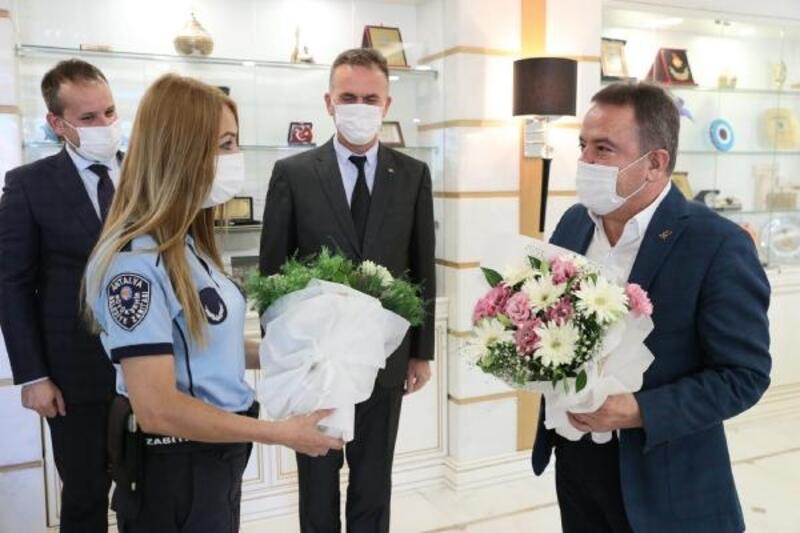 Başkan Böcek, Zabıta Haftası'nı kutladı