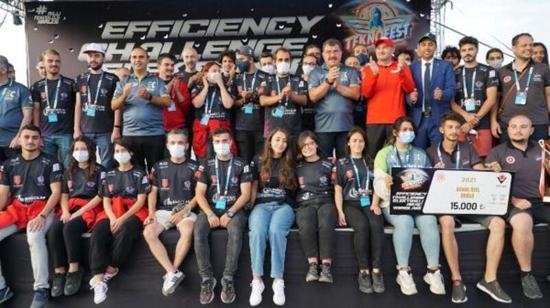 Bağcılar Belediyesi'nin destek verdiği Eva Team 3'üncü oldu