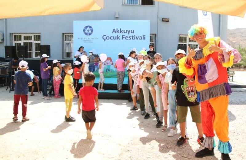 Akkuyu'dan çocuklar için festival