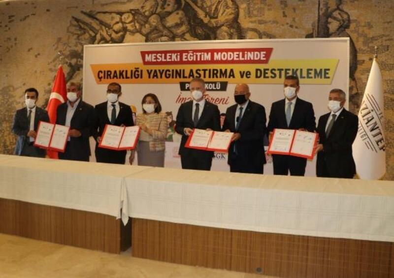 Gaziantep'te 'Çıraklığı Yaygınlaştırma ve Destekleme' protokolü imzalandı