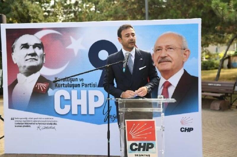 Beşiktaş Belediye Başkanı Akpolat, CHP'nin 98. kuruluş yıl dönümü kutlamasına katıldı