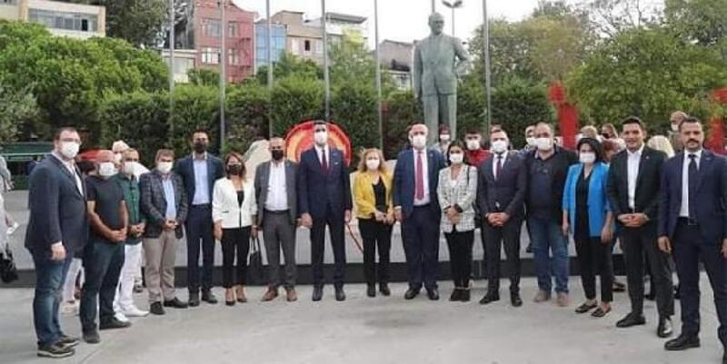 Kartal Belediye Başkanı Yüksel, CHP'nin 98. kuruluş yıl dönümü kutlamasına katıldı