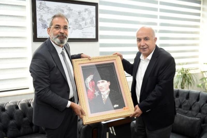 Başkan Bozdoğan'dan Emniyet Müdürü Aslan'a ziyaret