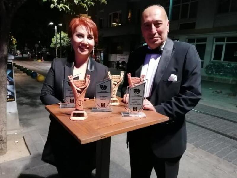 Mersin Şehir Tiyatrosu'na 5 ödül