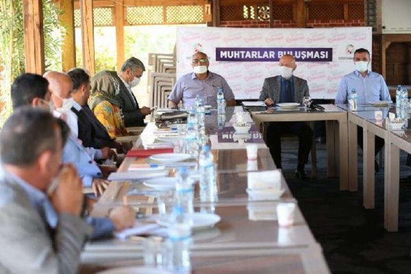 Başkan Çolakbayrakdar'dan muhtarlarla bölge toplantısı