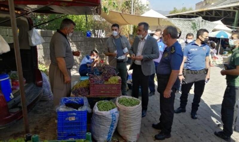 İslahiye Kaymakamı Anteplioğlu'ndan esnaf ziyareti