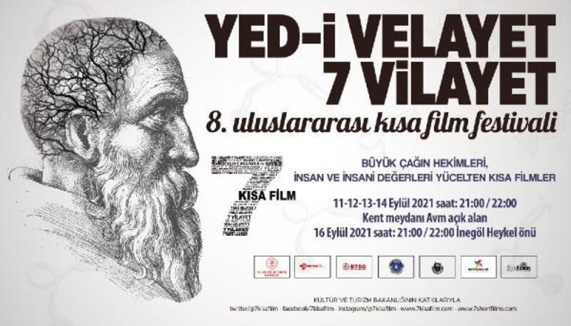 8. Uluslararası Yed-i Velayet 7 Vilayet Kısa Film Festivali, 11 Eylül'de başlıyor