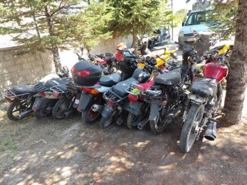 Kayseri polisinden çalıntı motosiklet operasyonu