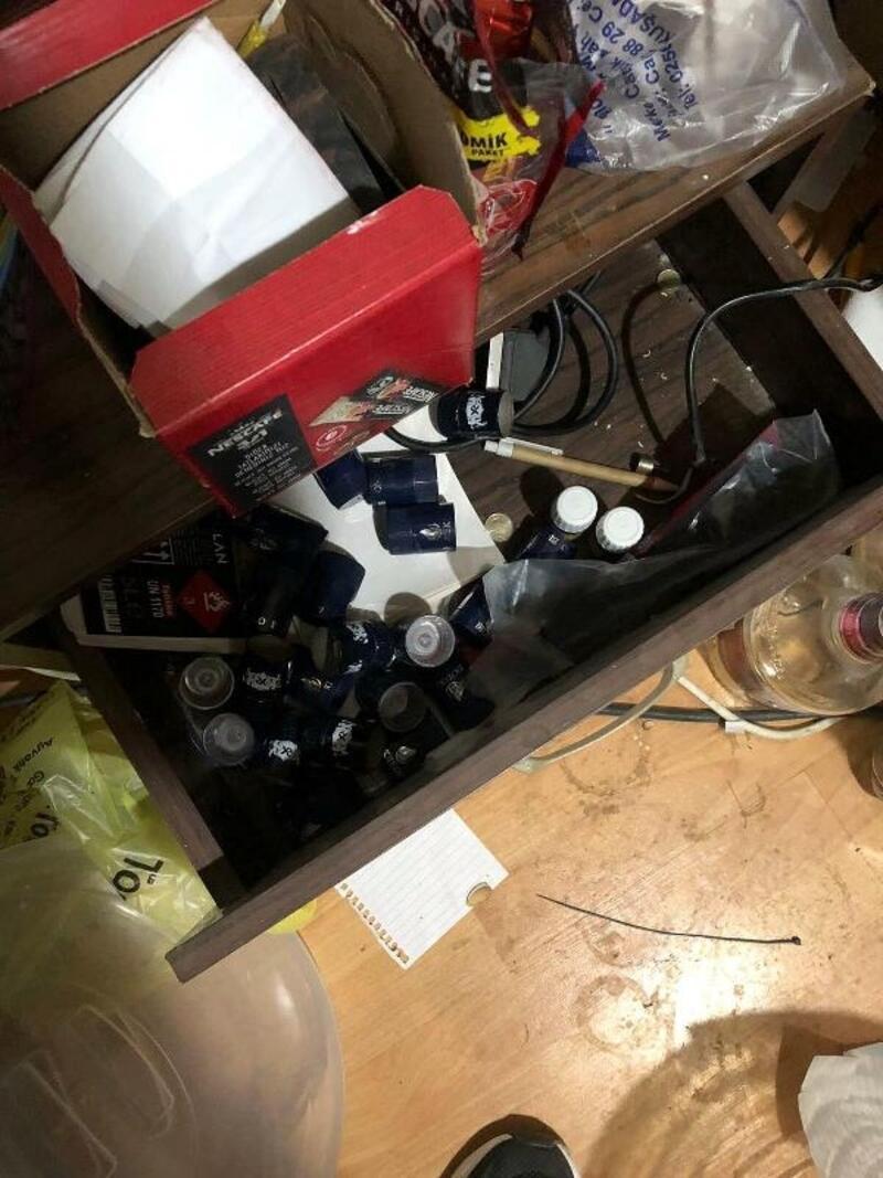 Kuşadası'nda sahte içki operasyonu: 1 gözaltı