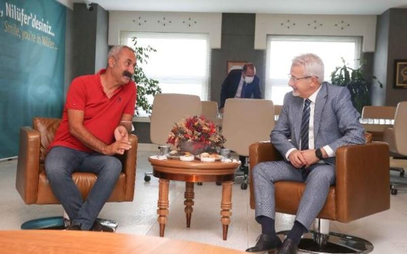 Tunceli Belediye Başkanı Maçoğlu'ndan Nilüfer Belediyesi'ne ziyaret