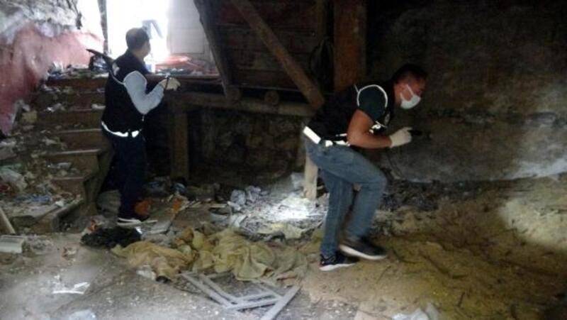 Bolu'da metruk binalarda uyuşturucu denetimi