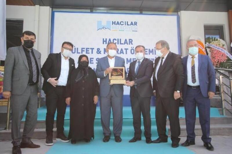 Hacılar'da Aile Sağlı Merkezi ile Toplum Sağlığı Merkezi açıldı