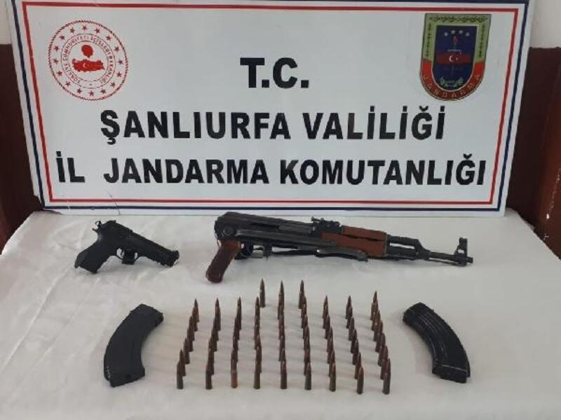 Viranşehir'de silah kaçakçılığına gözaltı