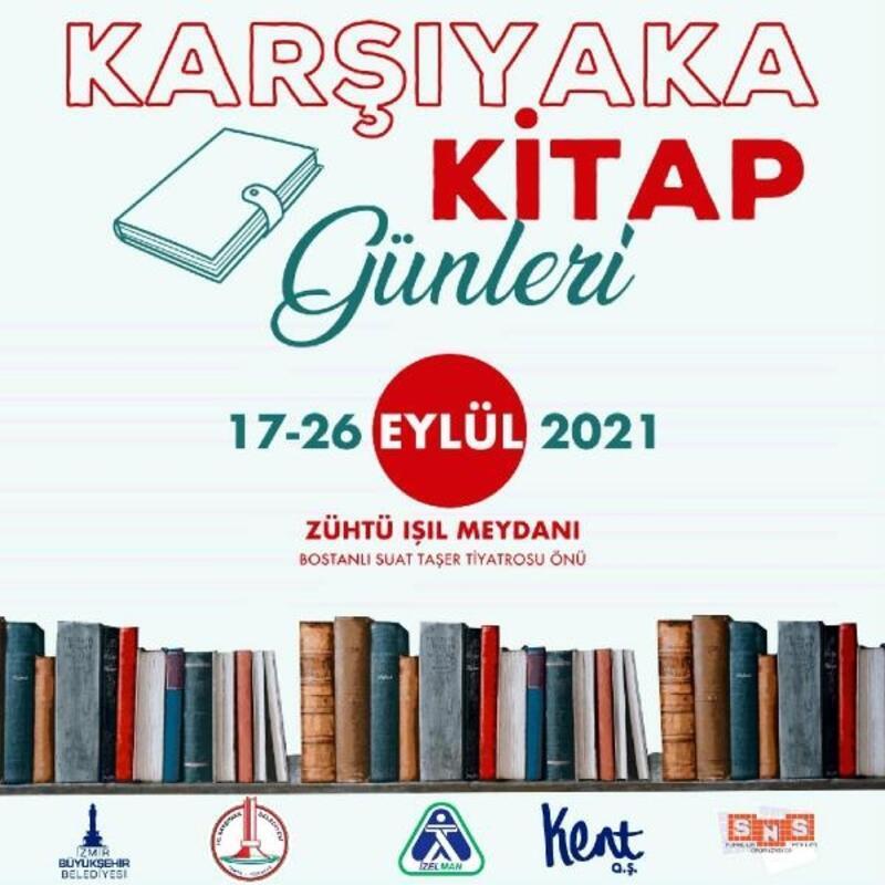Karşıyaka Kitap Günleri için gün sayıyor