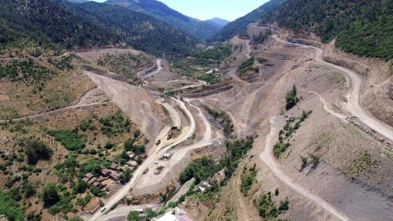 Yiğitler Barajı'nın yüzde 30'u tamamlandı