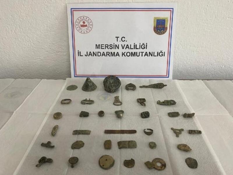 Bizans eserlerine satılmadan el konuldu