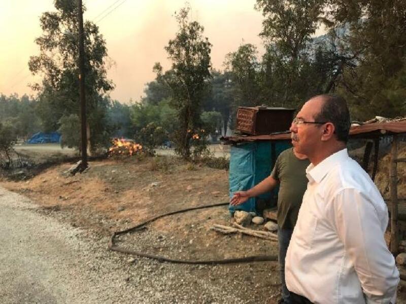 Orman yangınlarında zarar görenlere 170 bin liralık destek
